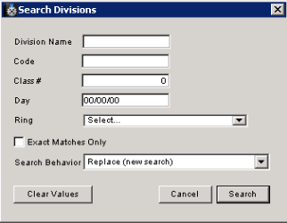division_search