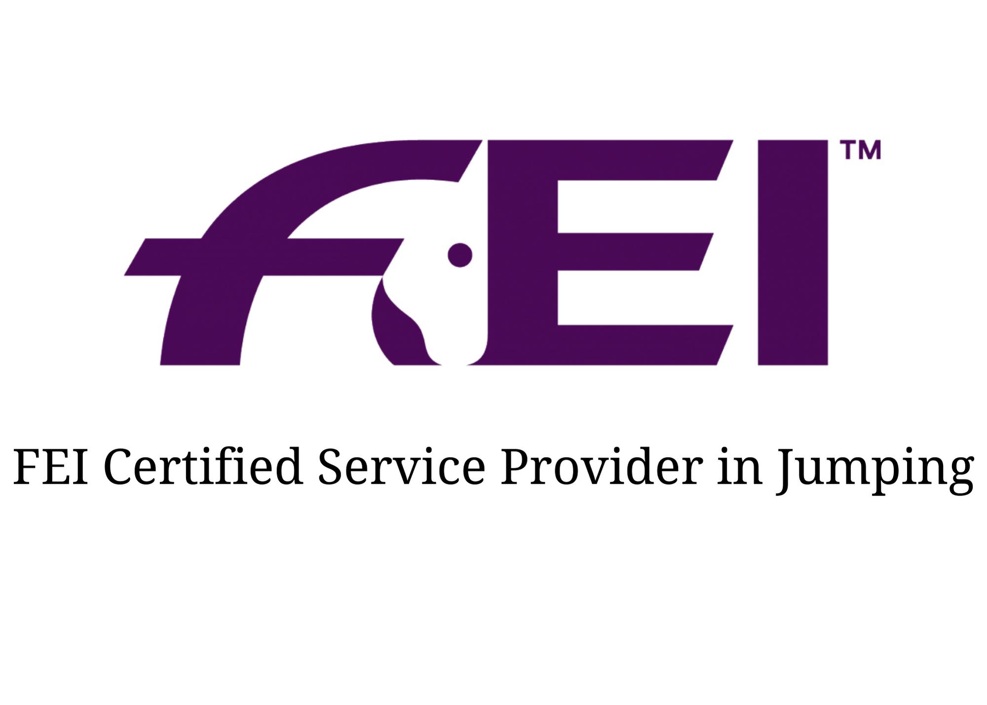 ShowGrounds is an FEI Certified Software